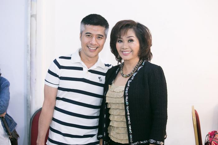 Nghệ sĩ Xuân Hương và diễn viên Quang Thảo