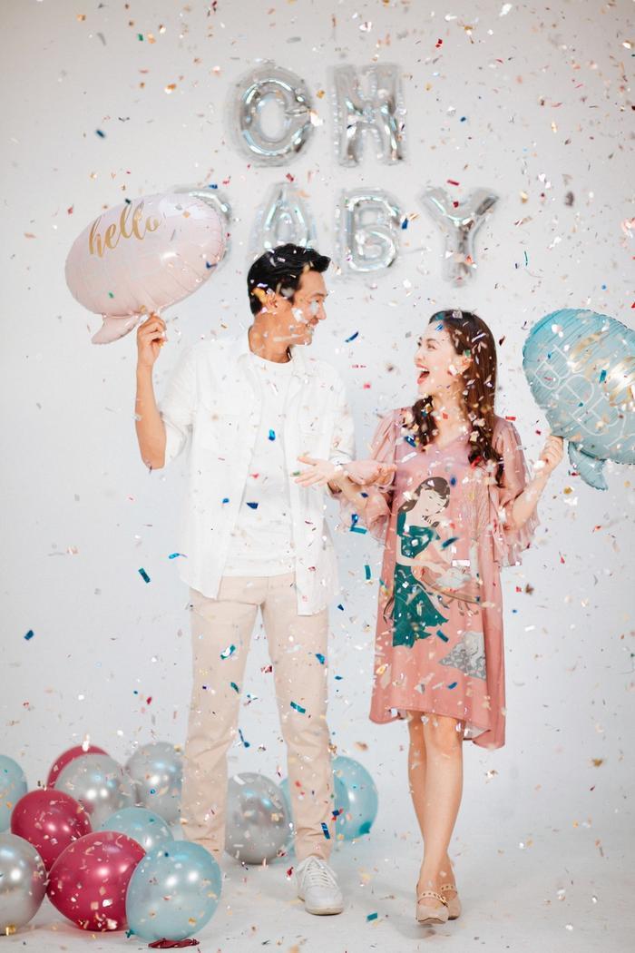 Sau 3 năm kết hôn, cuối cùng Quang Tuấn và Linh Phi cũng đã nhận được 'trái ngọt' cho mái ấm của mình.