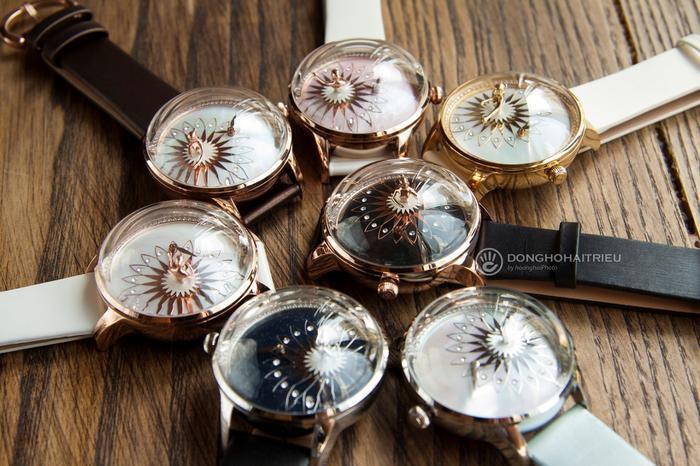 """Các phiên bản đồng hồ ba lê Fouetté có mặt tại Đồng Hồ Hải Triều """"gây thương nhớ"""" với nhiều người."""