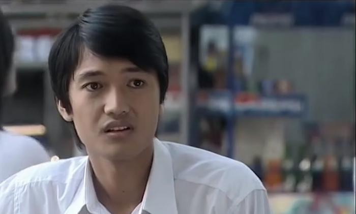 Quang Tuấn đóng vai nam sinh vườn trường trong Âm tính.