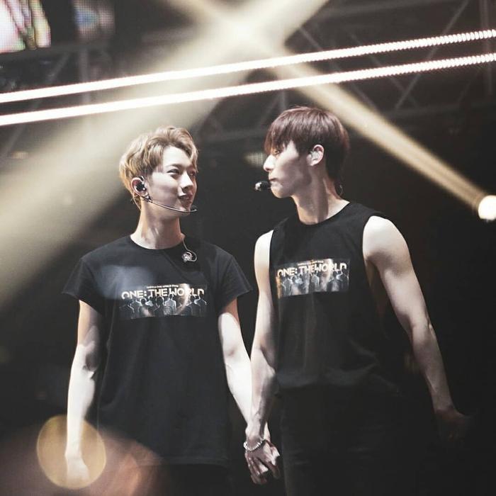 Minhyun và KuanLin.