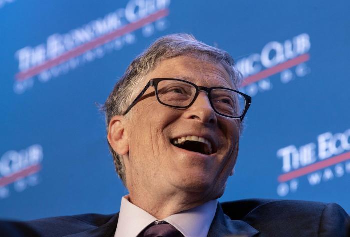 Bill Gates, người đồng sáng lập Microsoft (Ảnh: AFP)