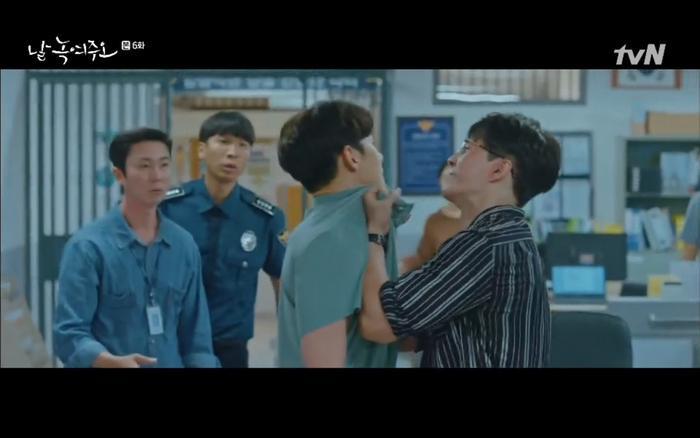 Dong Chan cảnh cáo Byeong Sim không được đến gần Mi Ran.