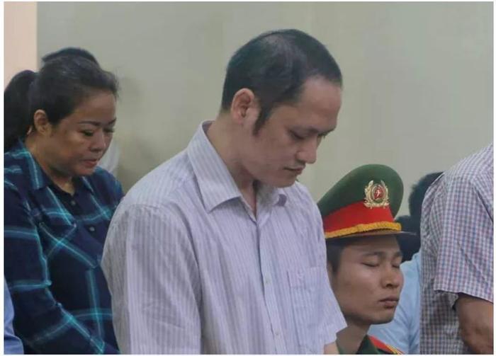 Bị cáo Vũ Trọng Lương trước tòa