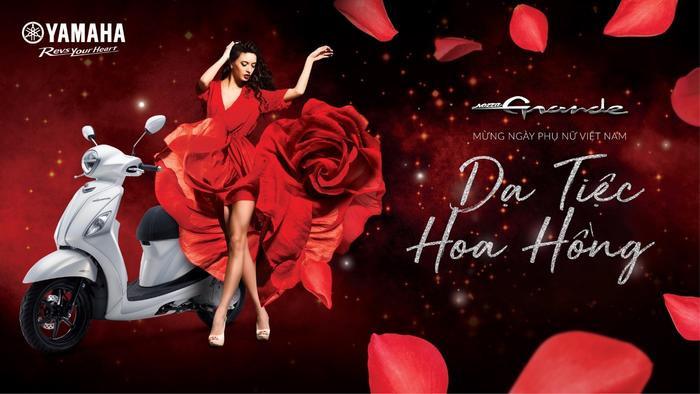 Dạ Tiệc Hoa Hồng với nhiều hoạt động trải nghiệm đặc biệt dành cho những quý cô Grande.
