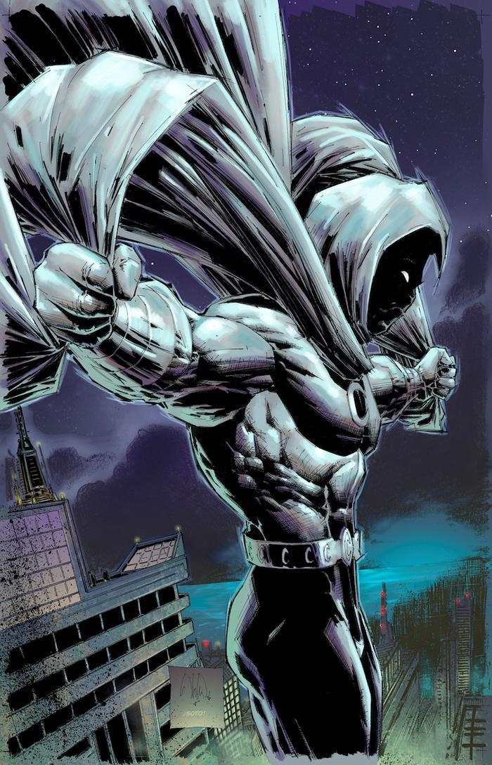 Moon Knight có nhiều điểm tương đồng với Batman và cả Joker.