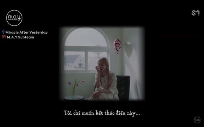 Chia sẻ của Sulli trong MV cuối cùng của nữ ca sĩ