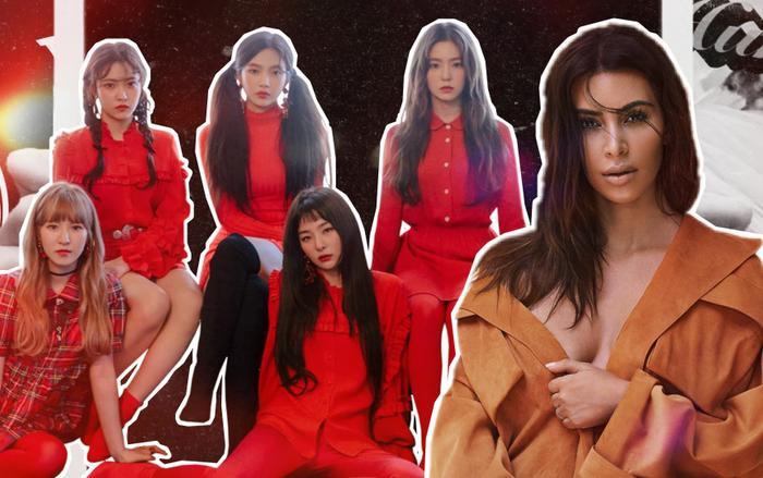 Cộng đồng mạng mới đây đã chia sẻ một câu chuyện dở khóc dở cười liên quan đến Kim Kardashian và Red Velvet.