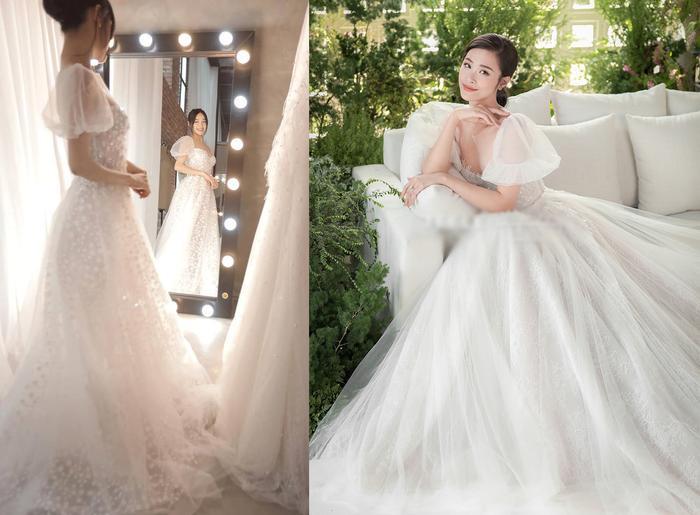 Mẫu váy công chúa tay bồng cực xinh cũng là 'chị em'