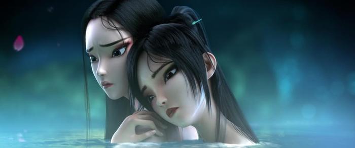 Câu chuyện về chị em xà tinh nổi tiếng nay đã có phiên bản hoạt hình.
