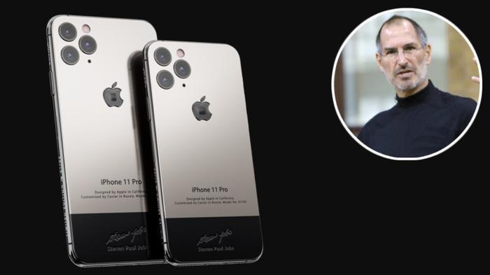 Giá khởi điểm cho phiên bản iPhone 11 Pro Steve Jobs là 6.280 USD (khoảng 146 triệu đồng).