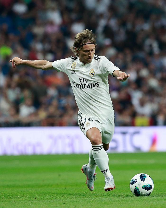 Luka Moric là ngôi sao thi đấu rất nổi bật trong màu áo Real.