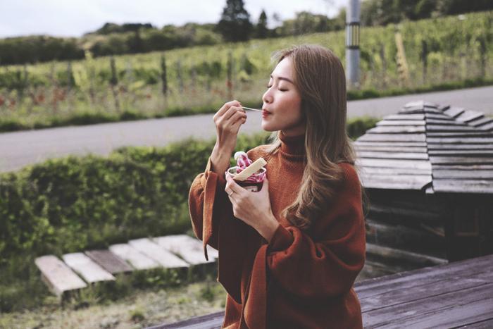 Khả Ngân hóa nàng thơ giữa cảnh sắc thiên nhiên đẹp đến nao lòng của Nhật Bản ảnh 12