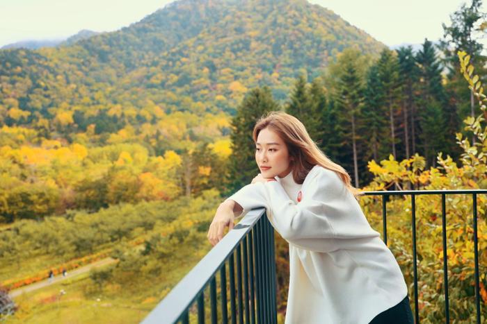 Khả Ngân hóa nàng thơ giữa cảnh sắc thiên nhiên đẹp đến nao lòng của Nhật Bản ảnh 0