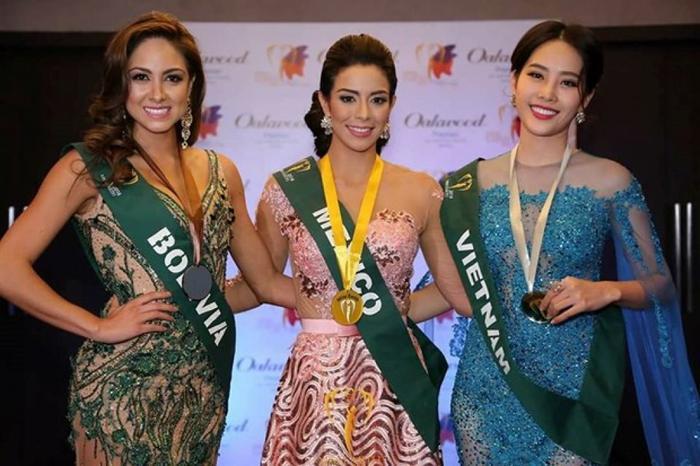 Trở lại mùa giải Miss Earth sau 3 năm vắng bóng, vào năm 2016 cô gái vàng của nhan sắc Việt - Nguyễn Thị Lệ Nam Em hiên ngang vào Top 8 chung cuộc. Năm đó, Nam Em cũng giành thêm cho mình Huy chương đồng Trang phục dạ hội đẹp nhất.