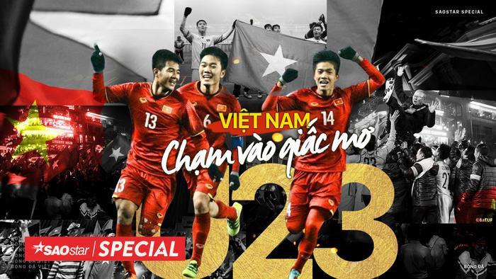 HLV Park và U23 Việt Nam tạo nên một trong những cú sốc lớn nhất lịch sử bóng đá châu Á tại Thường Châu 2018.