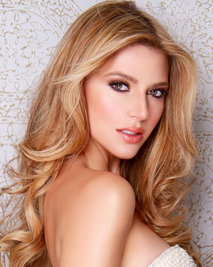 Hoa hậu Hoàn vũ Puerto Rico -Madison Anderson cũng là thí sinh mạnh năm nay.