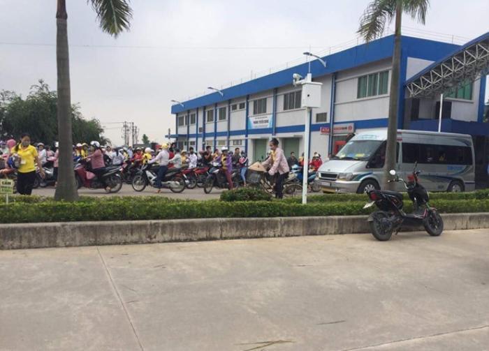 Hơn 100 công nhân nhập việnnghi do ngộ độc khí,Công ty Golden Victory dừng hoạt động