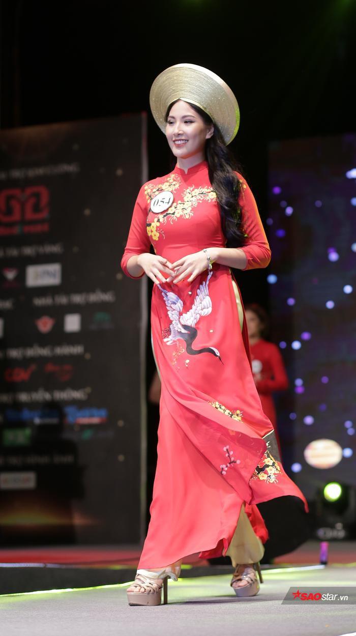Á khôi 1 của cuộc thi Trần Nam Phương có cái tên gợi nhắc đến một vị hoàng hậu tài sắc trong lịch sử Việt Nam