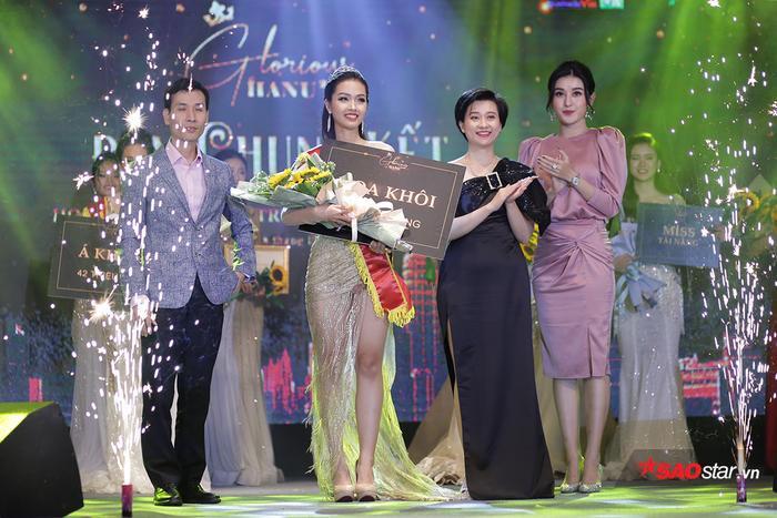 Trải qua 3 phần thi chung, cùng với sự xuất sắc trong phần thi ứng xử, Khánh Ly đã được xướng tên cho ngôi vị Hoa khôi đầy xứng đáng.
