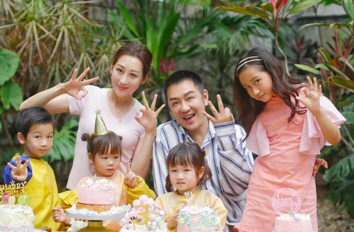 Gia đình một nhà 6 người hạnh phúc của Trần Hạo Dân.