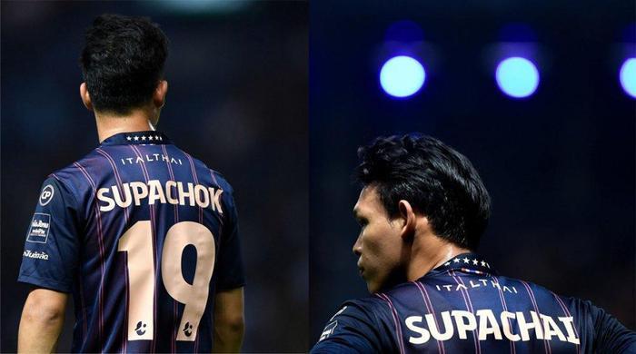 Supachok và Supachai là bộ đôi tiền đạo được đánh giá rất cao của bóng đá Thái Lan.