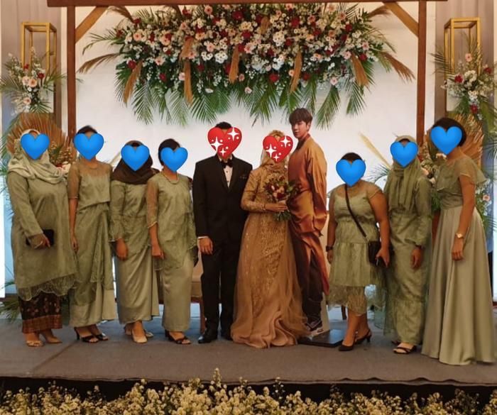 """Kang Daniel bỗng dưng trở thành """"chú rể"""" tại tiệc cưới của một người hâm mộ."""