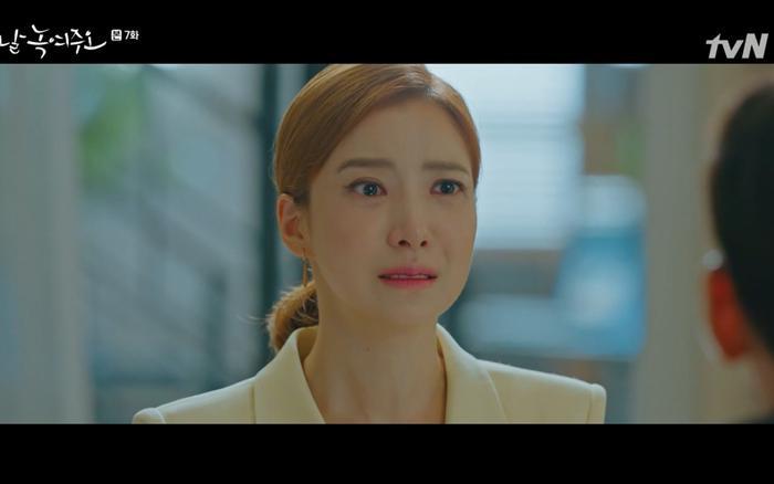 Ha Young tha thiết muốn quay lại nhưng Dong Chan từ chối.