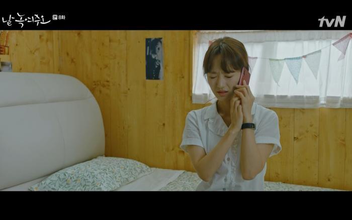 Nhưng Mi Ran lại rất xấu hổ và chủ động xin lỗi.