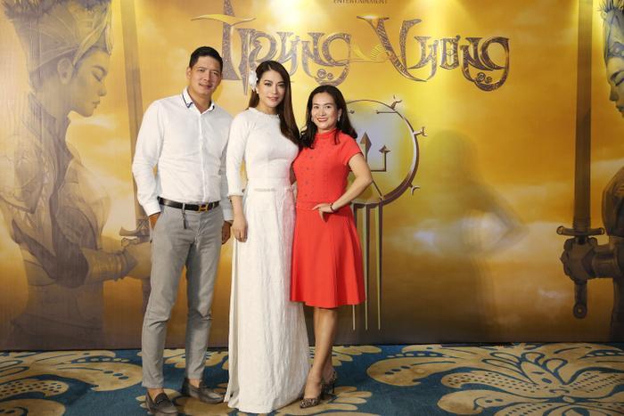 Trương Ngọc Ánh cùng một số khách mời tại sự kiện.