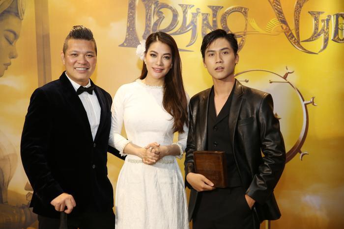 Trương Ngọc Ánh giới thiệu dự án phim huyền sử 'Trưng Vương'.