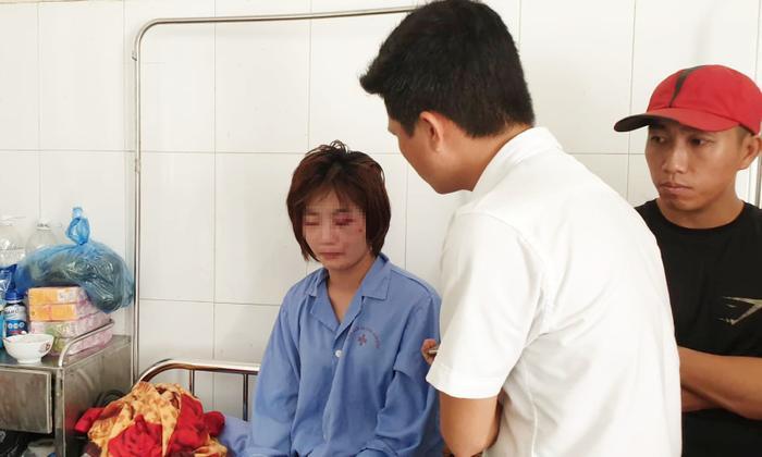 Chị H. hiện đang điều trị tại bệnh viện.