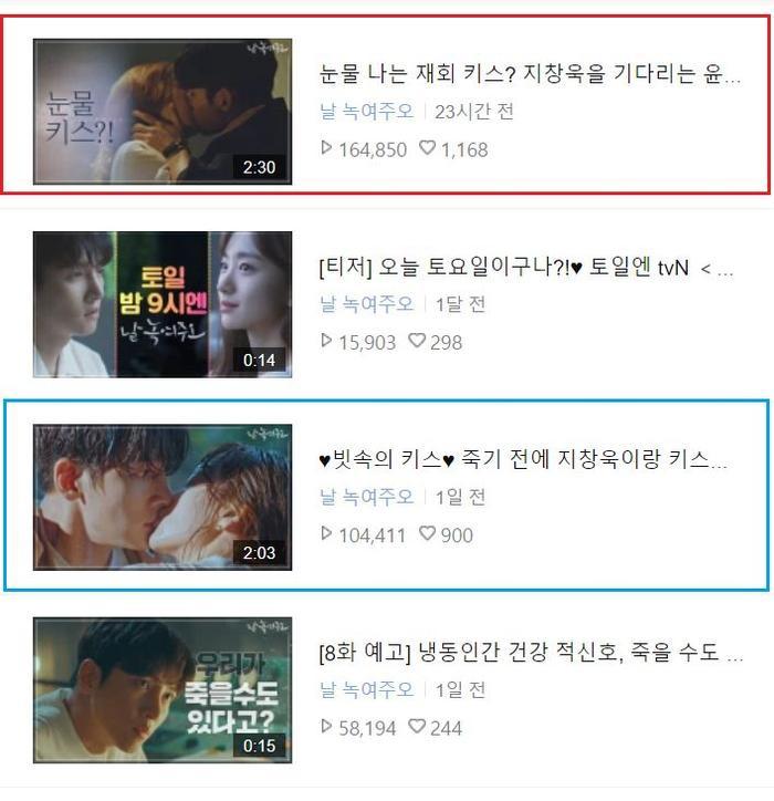 Cảnh hôn nóng bỏng của Ji Chang Wook  Yoon Se Ah đạt lượt view cao nhất Nhẹ nhàng tan chảy ảnh 1
