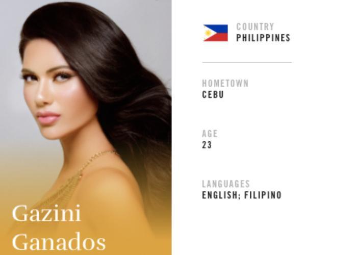 Philippines luôn là con át chủ bài của đội hình nhan sắc hàng năm.