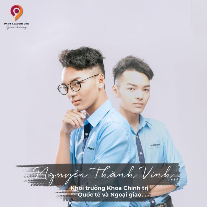 Tiếp nối truyền thống là Khoa có nhiều Khóa trưởng nhất, Nguyễn Thành Vinh - CT46C được kỳ vọng sẽ mang lại vinh quang cho Khoa Chính trị trong cuộc thi năm nay.