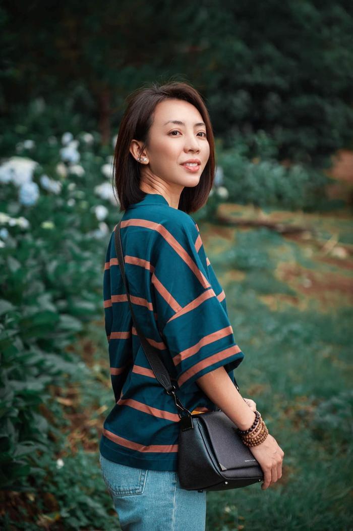 """Thu Trang cũng không kém cạnh các đàn em trong khoản """"phá hit""""."""