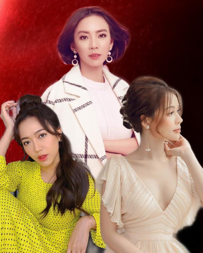 """Một tam ca """"trong mơ"""" được dân mạng lên ý tưởng: Thu Trang, Diệu Nhi và Sam."""