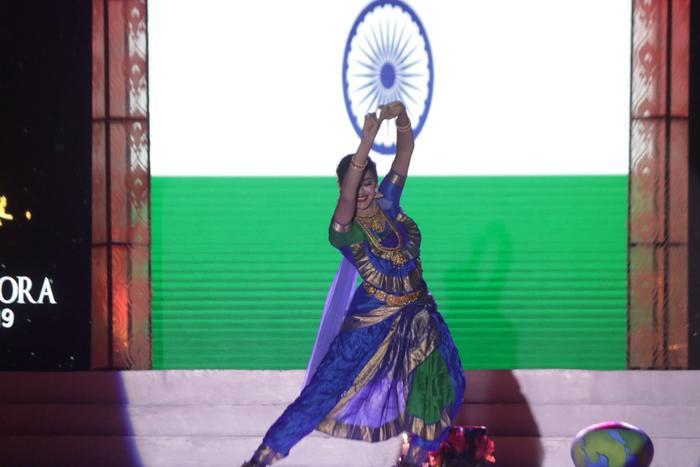 Giải thưởng best Talent thuộc về người đẹpTejaswini Manogna, đại diện đến từ Miss India.
