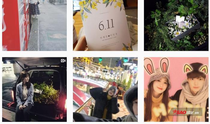 Một số ảnh chụp khi cặp đôi đi chơi cùng nhau và Ahn Jae Hyun đã tạo bất ngờ lớn bằng món quà đáng yêu trong cốp xe hơi.
