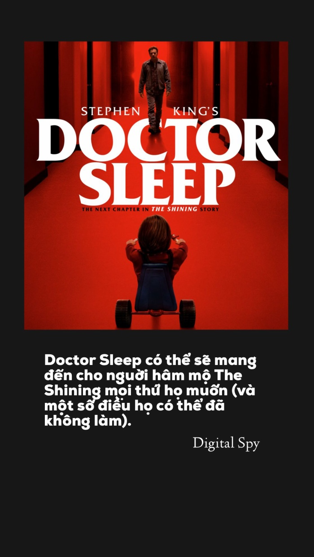 Những review đầu tiên về Doctor Sleep: Kế thừa hoàn hảo hay chỉ là bản sao của siêu phẩm The Shining! ảnh 3