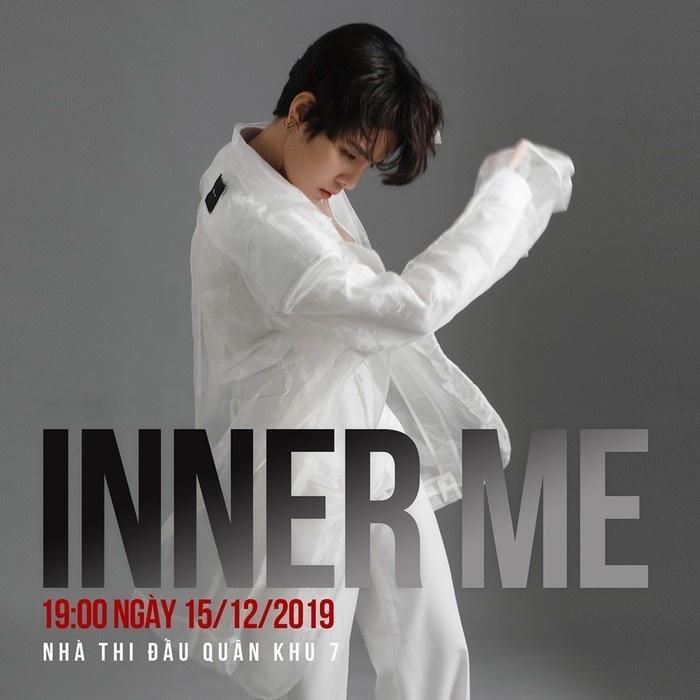 Concert InnerMe sẽ chính thức được diễn ra vào ngày 15/12/2019.
