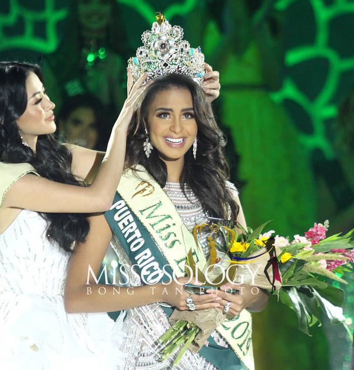 Lộ diện Tân Hoa hậu Trái đất đến từ Puerto Rico: Xinh đẹp, ứng xử thông minh, chiến thắng thuyết phục ảnh 0
