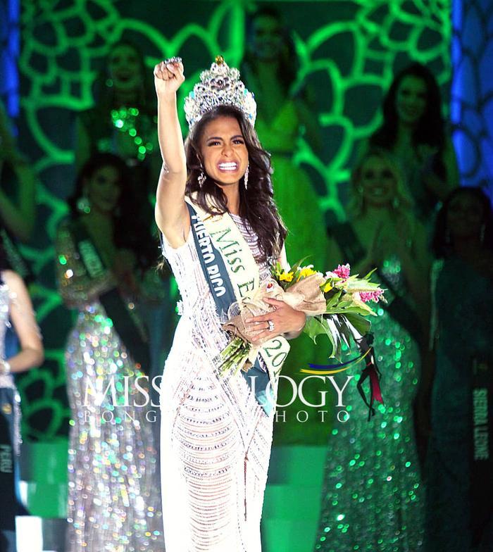 Lộ diện Tân Hoa hậu Trái đất đến từ Puerto Rico: Xinh đẹp, ứng xử thông minh, chiến thắng thuyết phục ảnh 11