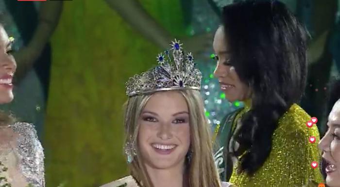 Lộ diện Tân Hoa hậu Trái đất đến từ Puerto Rico: Xinh đẹp, ứng xử thông minh, chiến thắng thuyết phục ảnh 5