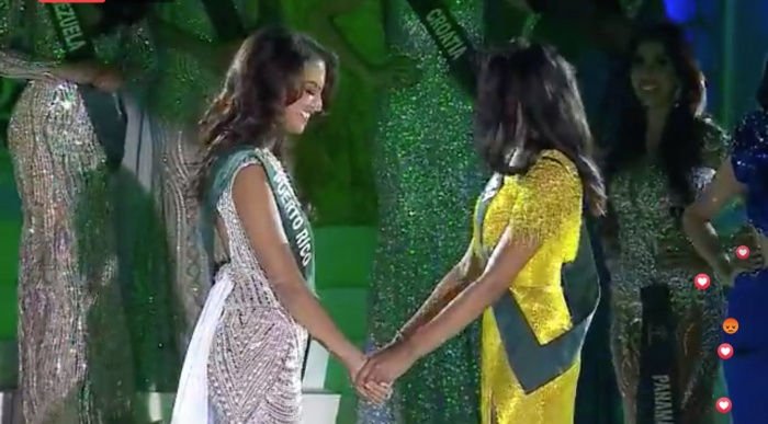 Lộ diện Tân Hoa hậu Trái đất đến từ Puerto Rico: Xinh đẹp, ứng xử thông minh, chiến thắng thuyết phục ảnh 7