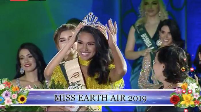 Lộ diện Tân Hoa hậu Trái đất đến từ Puerto Rico: Xinh đẹp, ứng xử thông minh, chiến thắng thuyết phục ảnh 6