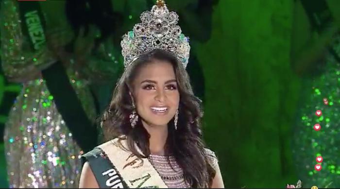 Lộ diện Tân Hoa hậu Trái đất đến từ Puerto Rico: Xinh đẹp, ứng xử thông minh, chiến thắng thuyết phục ảnh 8