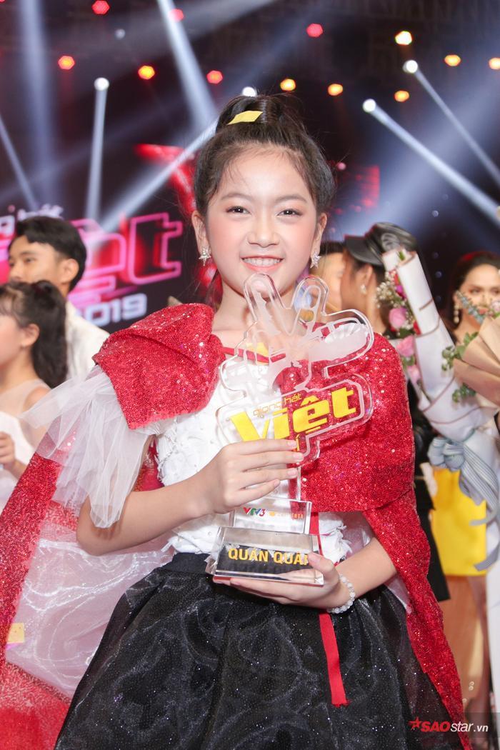 Kiều Minh Tâm đội Lưu Thiên Hương  Ali Hoàng Dương đăng quang quán quân The Voice Kids 2019 ảnh 5