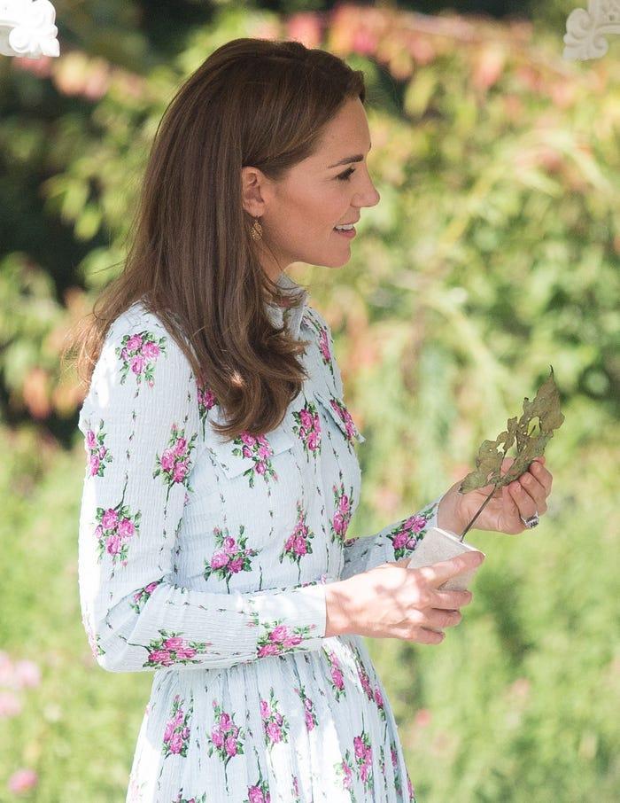 Tại sao Meghan Markle và Kate Middleton luôn mặc váy ngàn đô với khuyên tai rẻ tiền? ảnh 1