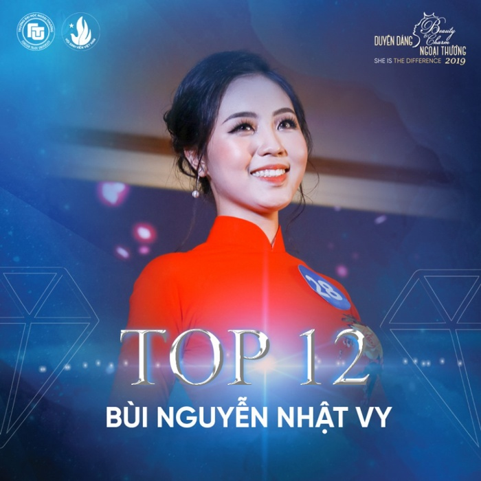 Nữ sinh bị ung thư bất ngờ lọt top 12 Hoa khôi ĐH Ngoại thương Hà Nội ảnh 13
